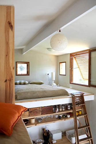Modern Bedroom In Mezzanine Gap Interiors Blog