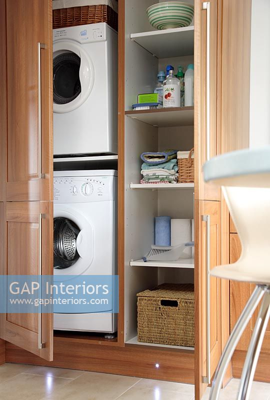 Gap Interiors Concealed Washing Machine And Tumble Dryer