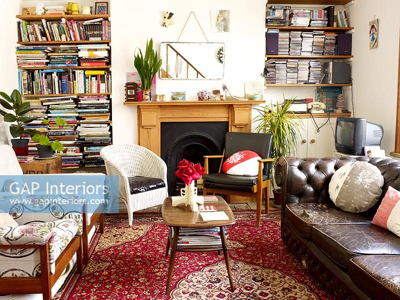 Gap Interiors Quirky Living Room Image No 0010648 Photo By Rachael Smith