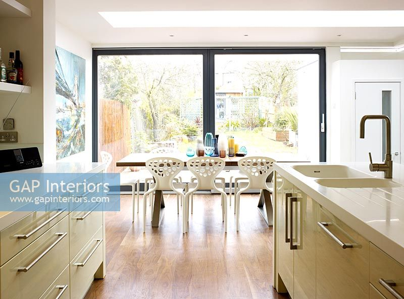 Gap Interiors Open Plan Kitchen And Dining Room Image
