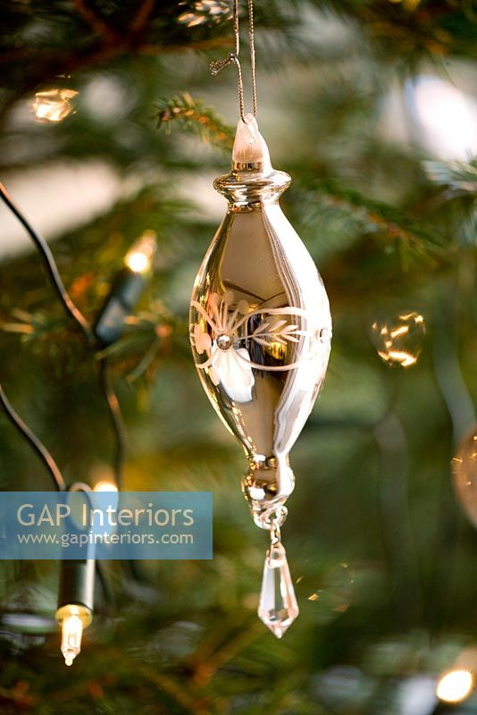 Ornate christmas tree bauble