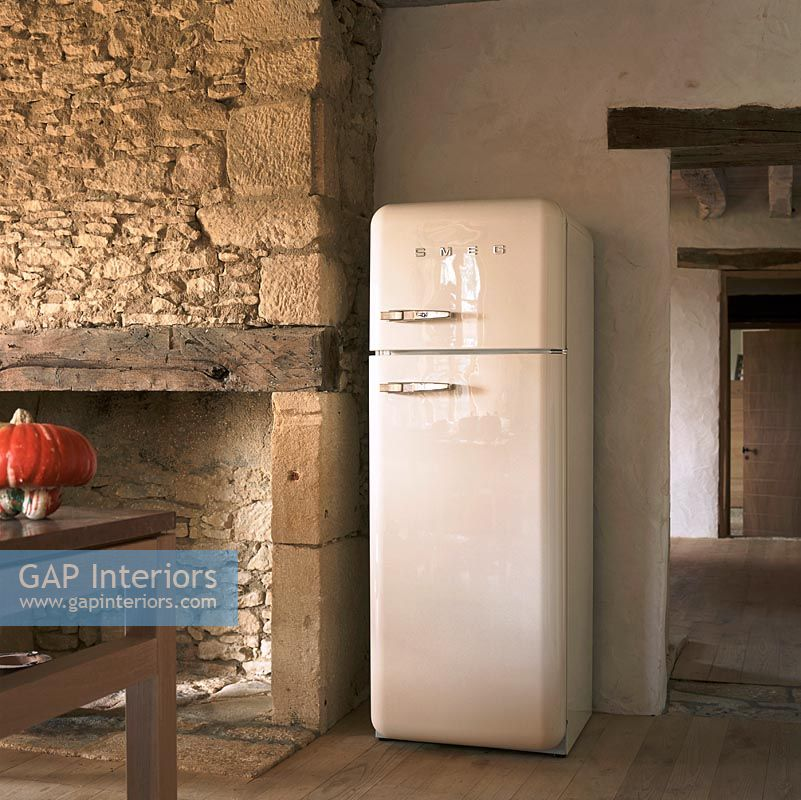 Fridge In Kitchen gap interiors - fridge in kitchen - image no: 0020317 - photo