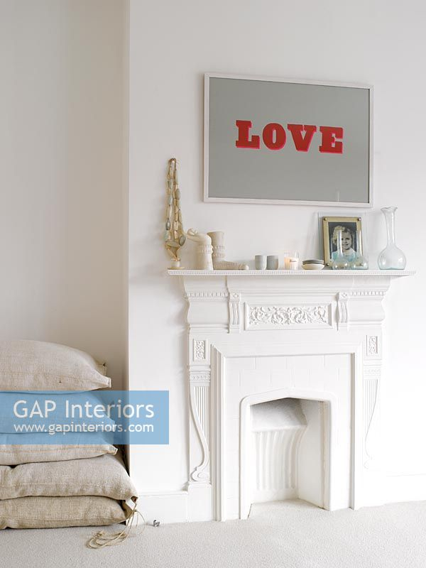 GAP Interiors   Small Fireplace In Bedroom   Image No: 0024752 .