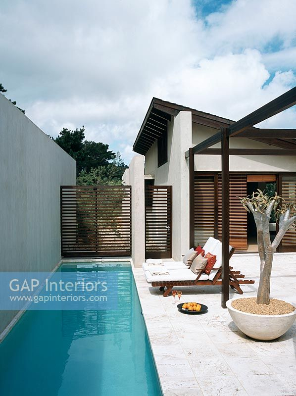 GAP Interiors - Narrow swimming pool - Image No: 0032811 ... on old pool designs, traditional pool designs, corner pool designs, normal pool designs, pool edge designs, modern pool designs, small pool designs, skinny pool designs, narrow house design, wild pool designs, curved pool designs, high-end spa spillway designs, long pool designs, swimming pool designs, tropical pool designs, play pool designs, irregular pool designs, bad pool designs, angled pool designs,
