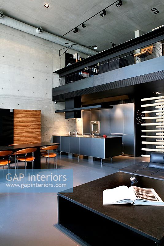 GAP Interiors Modern Industrial Living Room Image No 0042414 Photo By