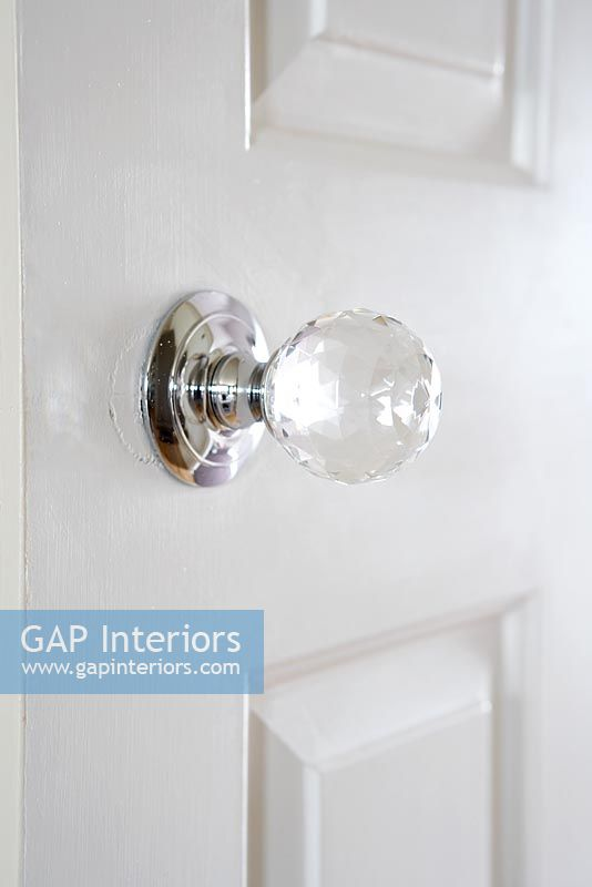 Bedroom Door Knob Detail