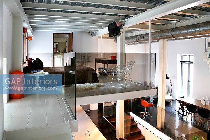 GAP Interiors Bedroom On Mezzanine Floor Image No