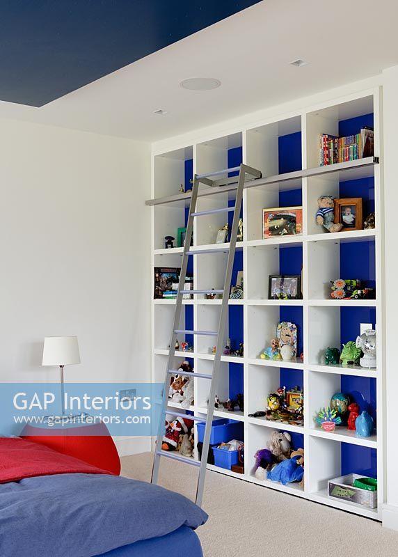 GAP Interiors - Shelving unit in modern childrens bedroom - Image No ...
