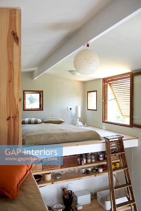 Gap Interiors Modern Bedroom In Mezzanine Image No