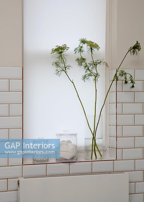 Modern Bathroom Windowsill