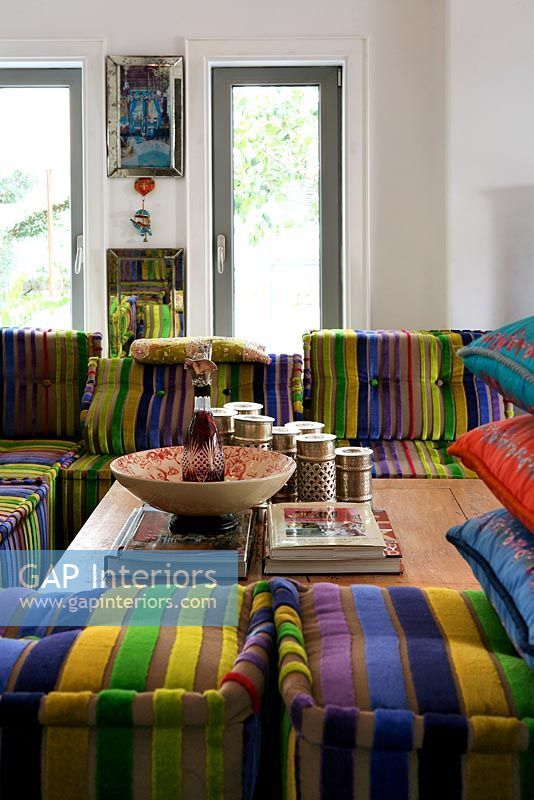 Gap Interiors Modern Moroccan Style Living Room Image