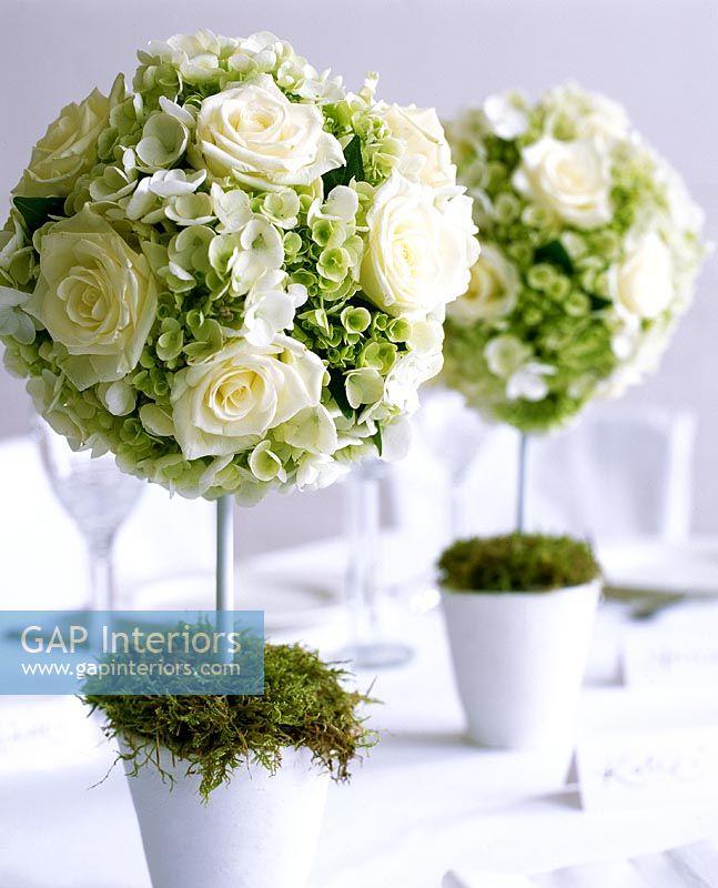 Flower arrangements for dining