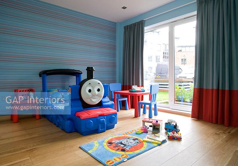 Gap Interiors Childrens Room With Novelty Bed Image No