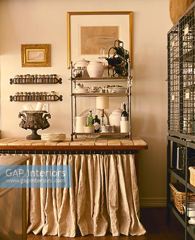 Gap interiors classic kitchen worktop and accessories for Classic muebles uruguay