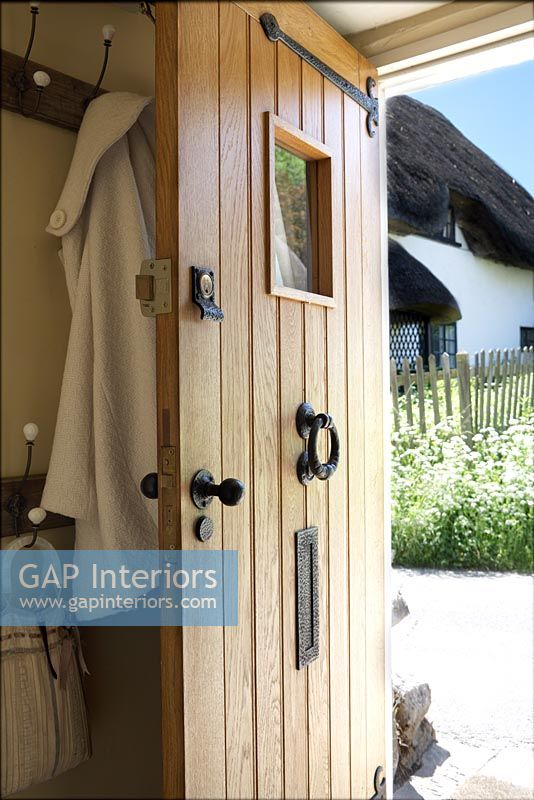 Gap Interiors Front Door Of Country Cottage Image No 0059674 Photo By Nick Carter