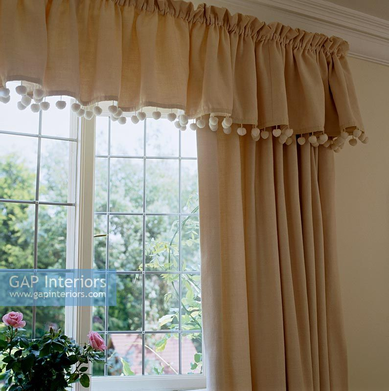 Classic Curtains And Valance