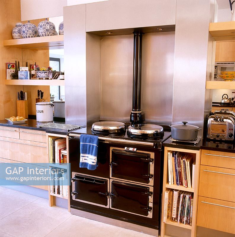 Kitchen Cabinets Zimbabwe: Modern Kitchen With Aga