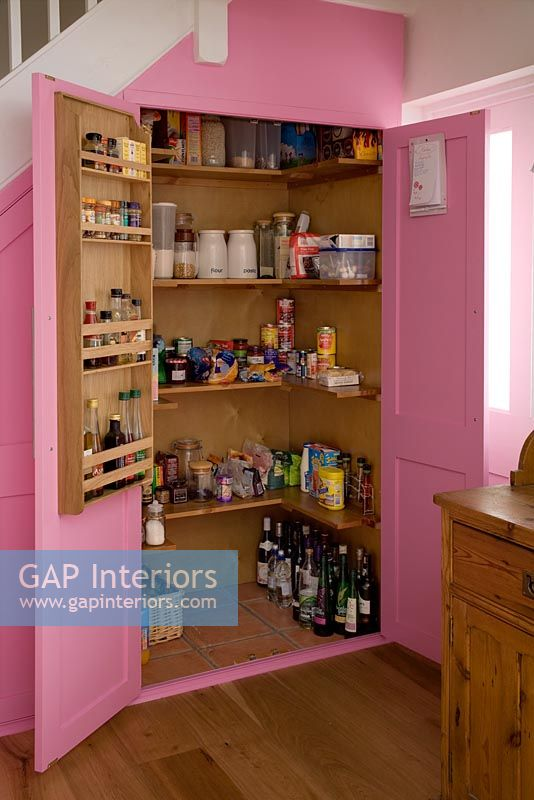 Gap interiors country kitchen larder image no 0070949 photo by bruce hemming - Country kitchen larder cupboard ...