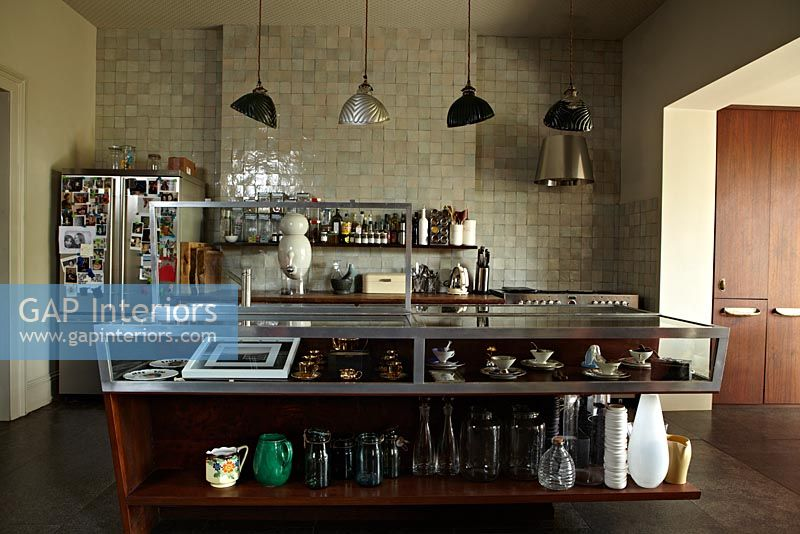 Gap Interiors Industrial Style Kitchen Image No