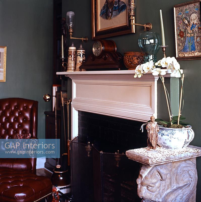 Classic living room detail