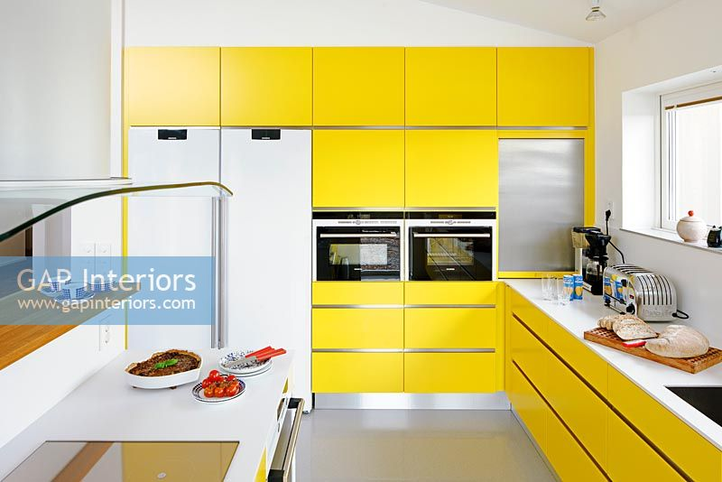 Gap interiors modern kitchen image no 0081329 photo - Abwaschbare wandfarbe kuche ...
