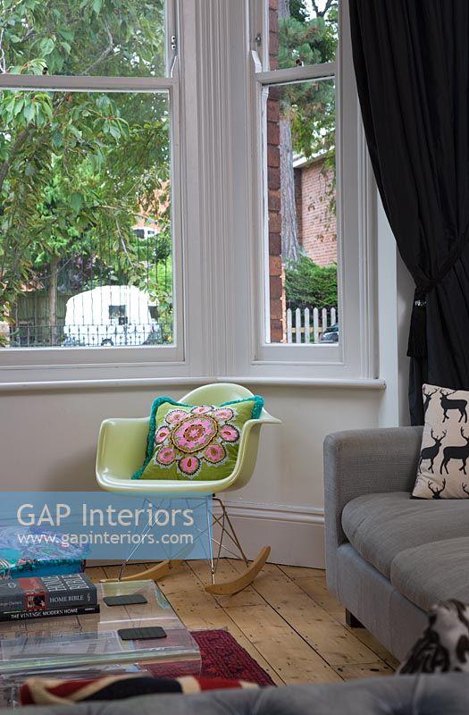 GAP Interiors - Rocking chair by bay window - Image No: 0085690 ...