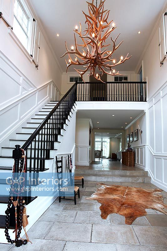 Classic entrance hall and staircase