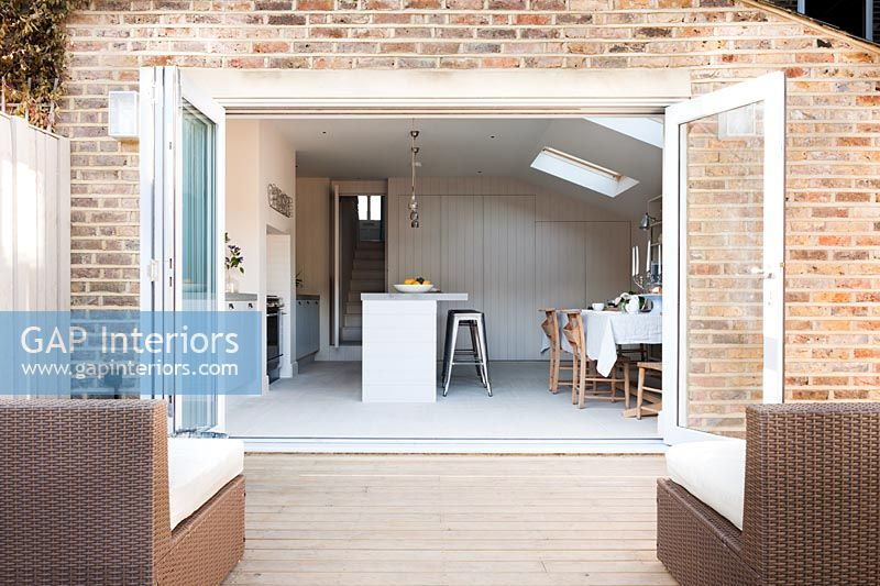 Kitchen extension exterior