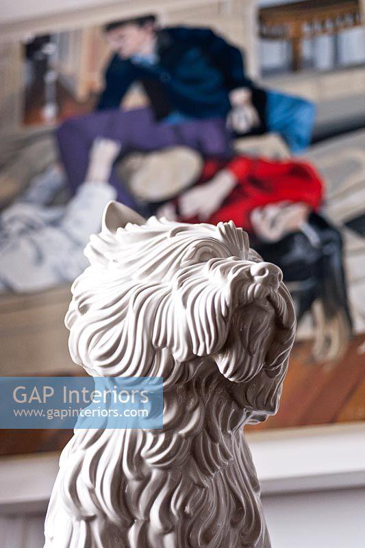 Gap Interiors Jeff Koons Puppy Vase Image No 0102255 Photo By