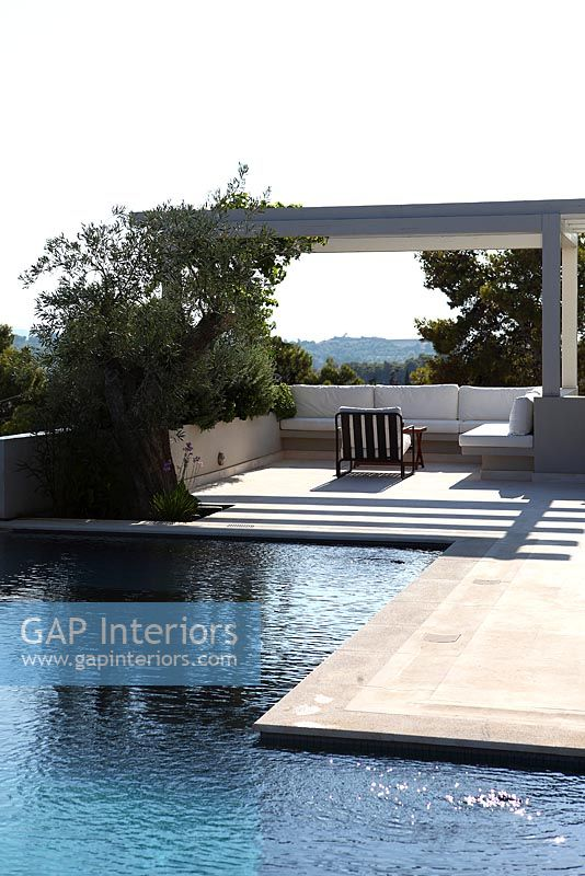 Gap Interiors Modern Terrace And Swimming Pool Image