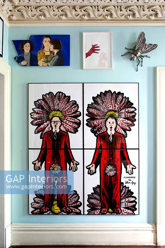 Gilbert and George artwork