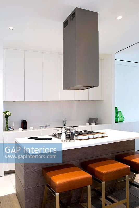 Kitchen Island With Stock Photo By Costas Picadas Image 0169084