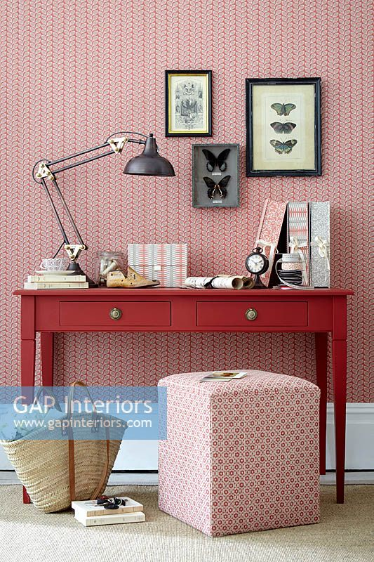 Patterned accessories and furniture