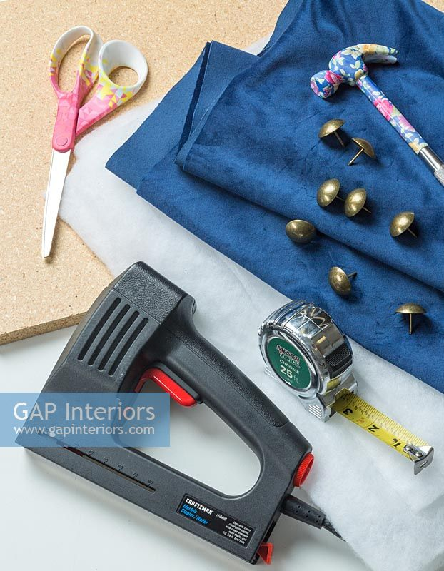 Tools and equipment for making a headboard