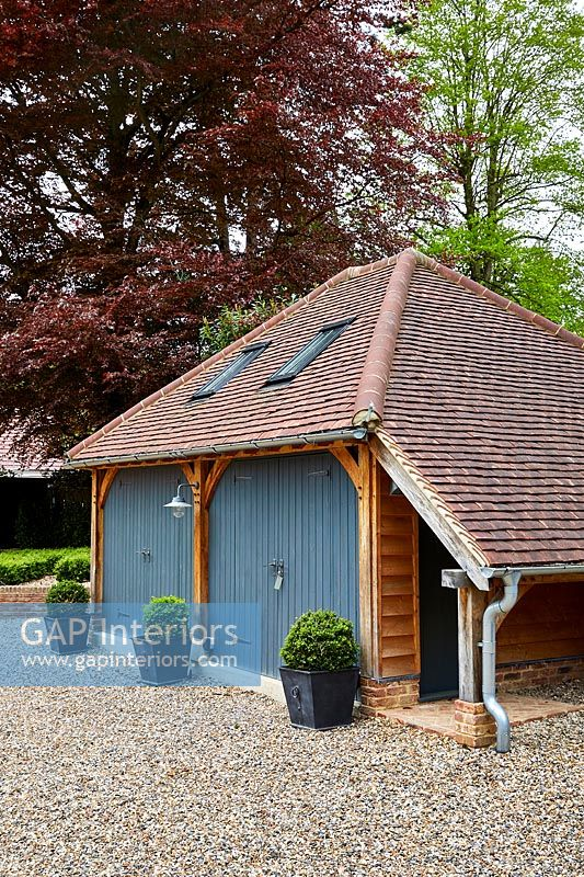 Country style garages