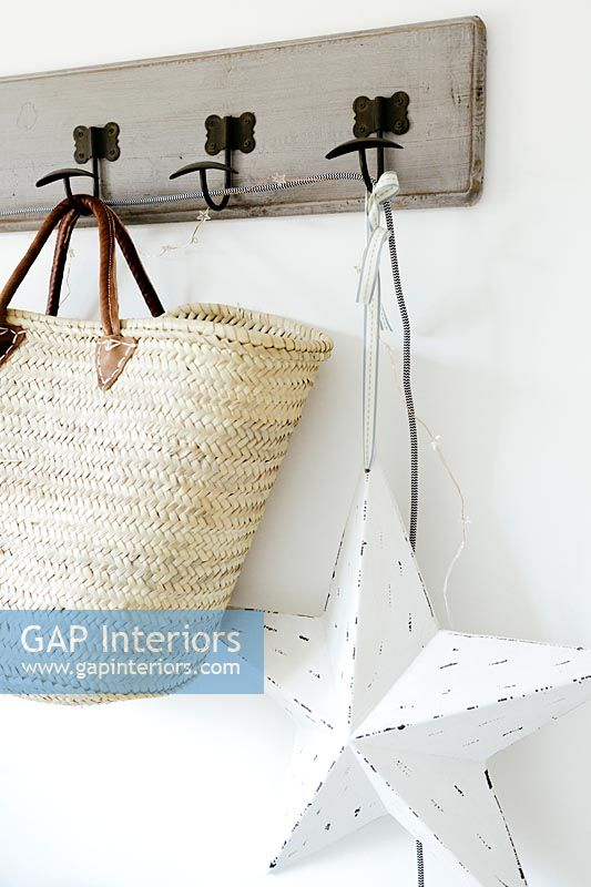 Coat hooks with bags