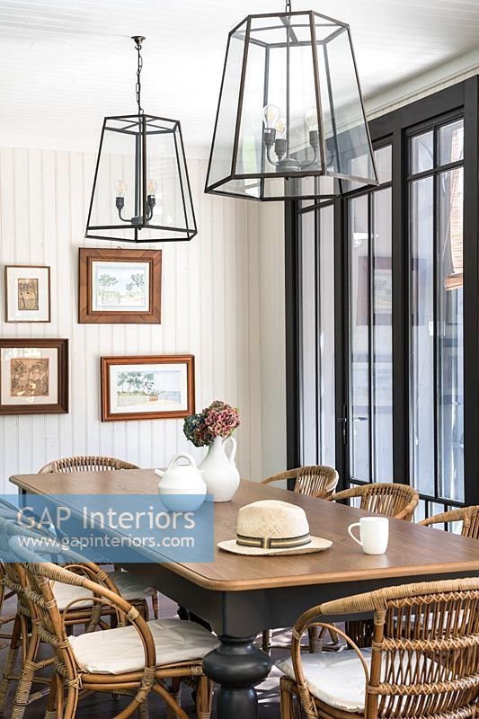 Modern country dining room