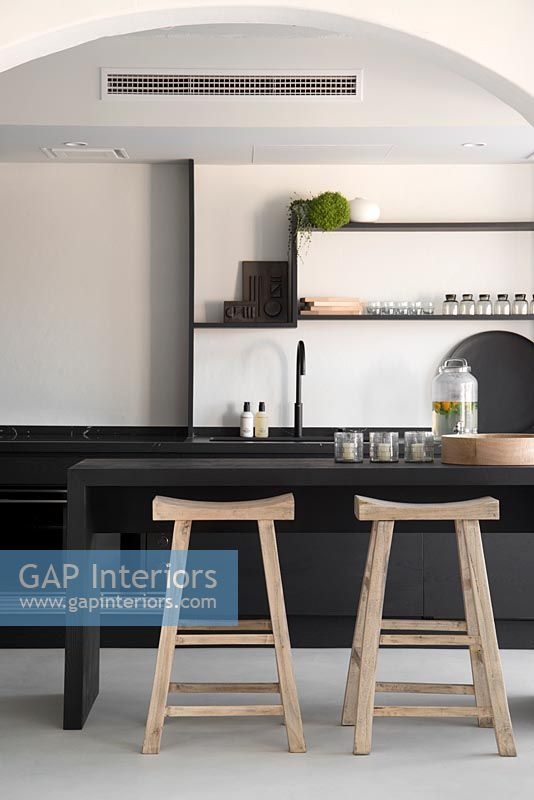 Modern kitchen detail