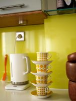 Detail of retro kitchen