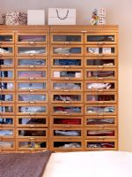Drawers for clothes in bedroom