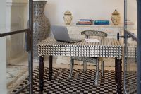 Moroccan home office