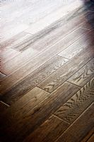 Detail of Dark Hardwood Floor
