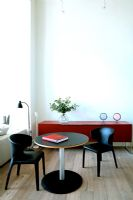 Small modern dining table and chairs