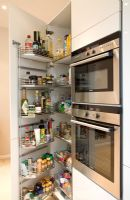Storage in modern kitchen