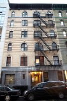 Exterior of New York apartment building