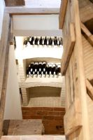View to wine cellar