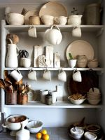 Kitchen shelves, detail
