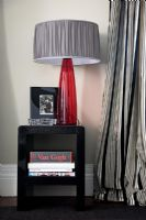 Modern side table and lamp