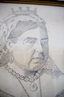 Close up picture of Queen Victoria