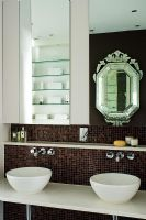 Contemporary bathroom sinks